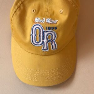 Vintage Yellow Oregon Baseball Cap Hat